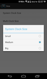 XMultiZone Clock Xposed Module- screenshot thumbnail