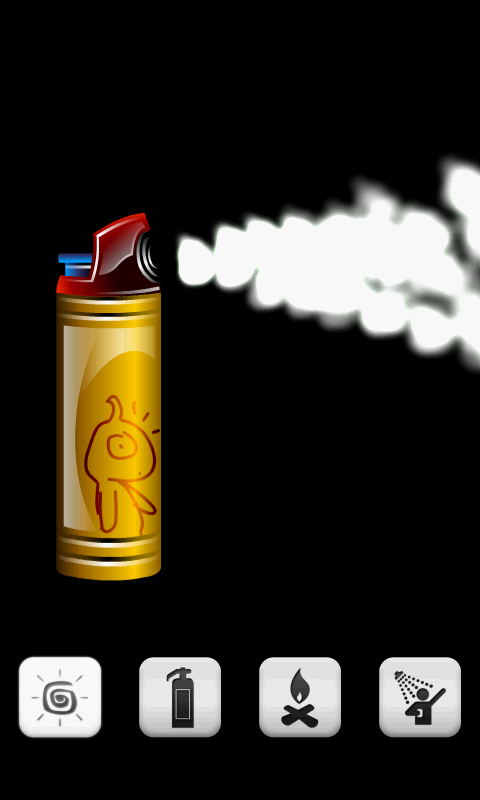 Virtual Spray Can (free)- screenshot