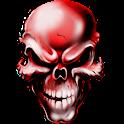 Crâne Fond Animé icon