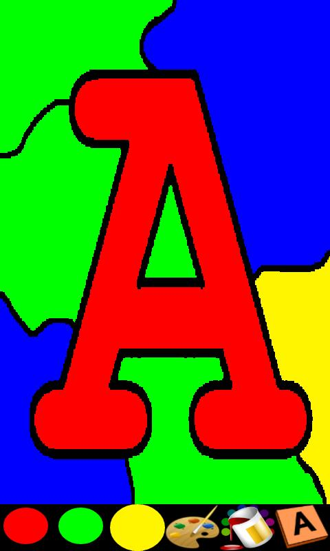 Coloring for Kids - ABC Pro- screenshot