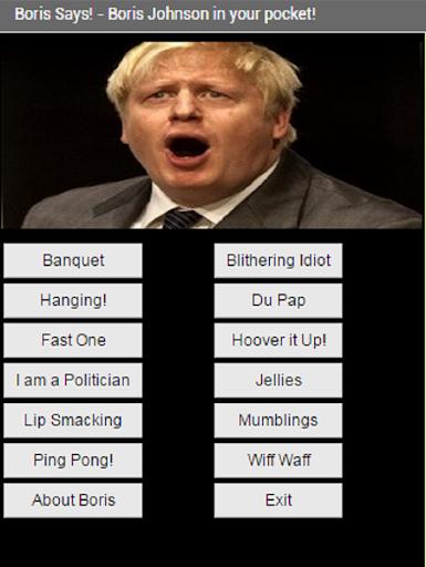 Boris Johnson Speaks