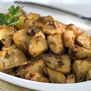 Onion-Roasted Potatoes.