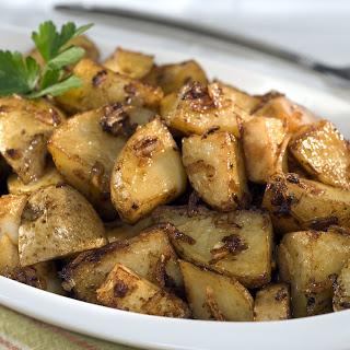 Onion-Roasted Potatoes.