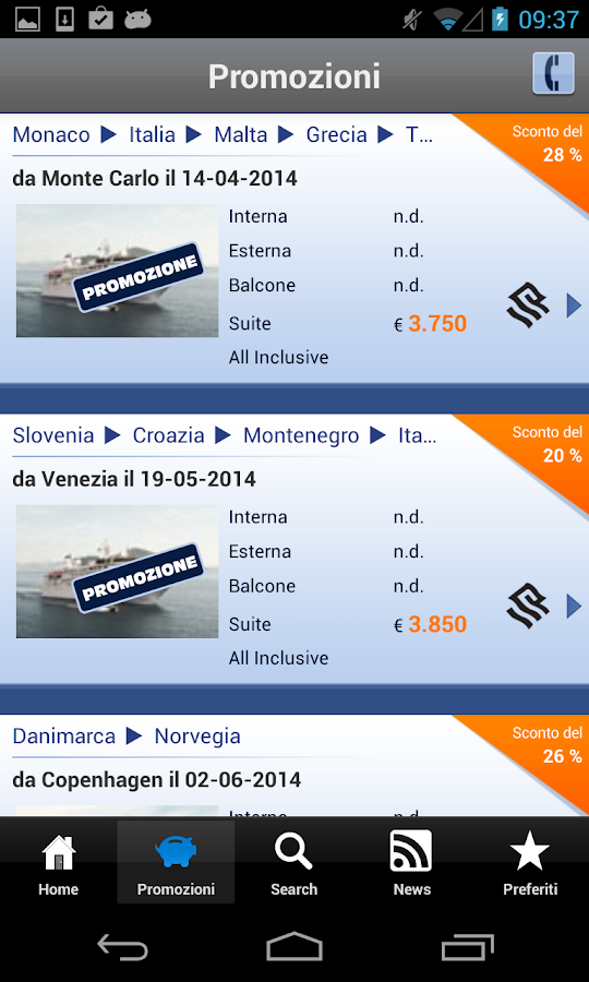 Ticketsilversea - Crociere- screenshot