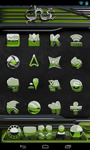 NEXT theme dragon olive - náhled