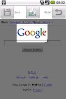 Screenshot of Web Clip Widget Trial Edition