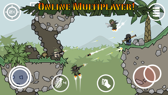 ApkMod1.Com Doodle Army 2 : Mini Militia v4.2.7 APK + MOD (Pro Pack) for Android Action Game
