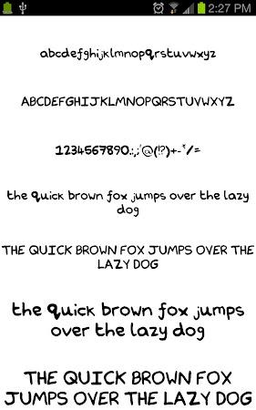 Neat Fonts for FlipFont free 3.16.1 screenshot 1962596