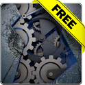 Mechanical gear free lwp icon