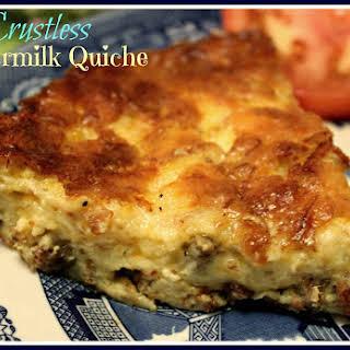 Crustless Buttermilk Quiche!.