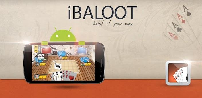لعبة iBaloot الشهيره الآن بالماركت