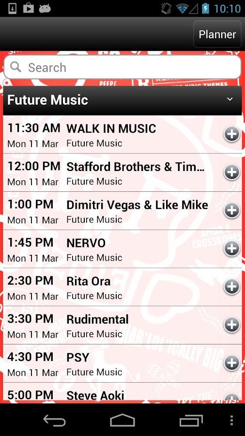 Future Music Festival 2013 - screenshot