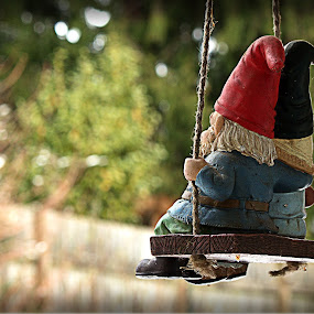 Love is in the air, for the Gnomes are in love.... by Steve Fisher - Artistic Objects Other Objects