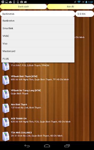 【免費交通運輸App】Atm,Bank Viet Nam-APP點子