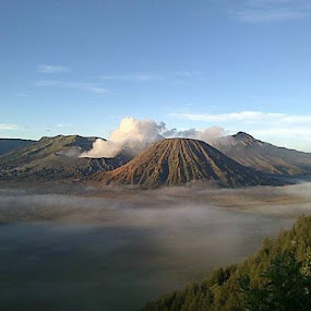 There is a little hope in Bromo by Dwi Ratna Miranti - Landscapes Mountains & Hills