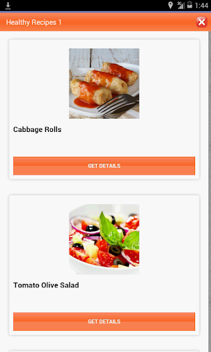 【免費生活App】Low Fat & Healthy Recipes-APP點子