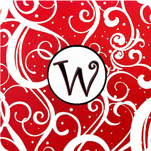 Christmas Monogram W Live WP for Android