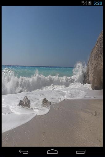 Beach Rock Live Wallpaper