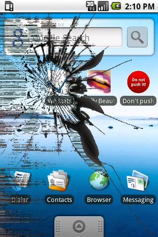 Cracked Screen Unlocker- screenshot