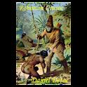 Robinson Crusoe-Book logo