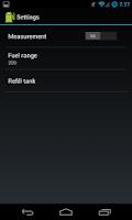 Screenshot of Fuel Gauge