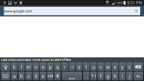 Voice Typing Keyboard VTK Free- screenshot thumbnail