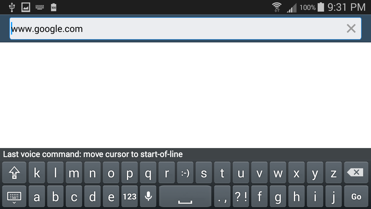 Voice Typing Keyboard VTK Free- screenshot