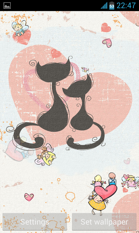 cute Love Live Wallpaper - Android Apps on Google Play