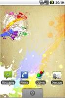 Screenshot of Art Clock
