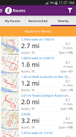 Screenshot of Walk with Map My Walk