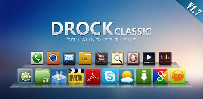 Drock GO Launcher EX Theme apk