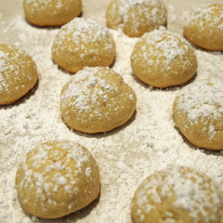 Mexican Wedding Cookies (Polvorones) (Vegan)