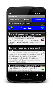 All French News Live Papers- screenshot thumbnail