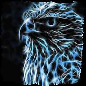 Sparkling eagle live paper