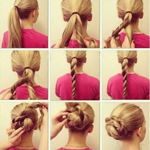 Hair Styling Step By Step