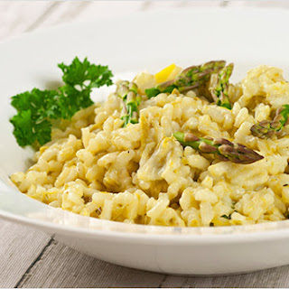 Asparagus and Lemon Risotto.