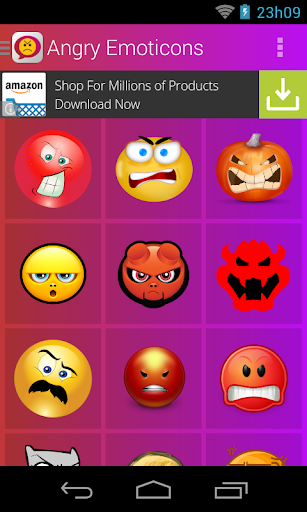 Angry Emoticons