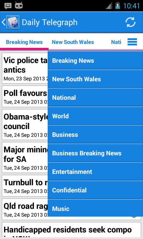 Australia News - screenshot