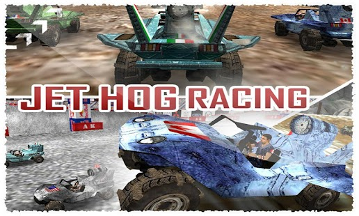 Jet Hog Racing 3D Game