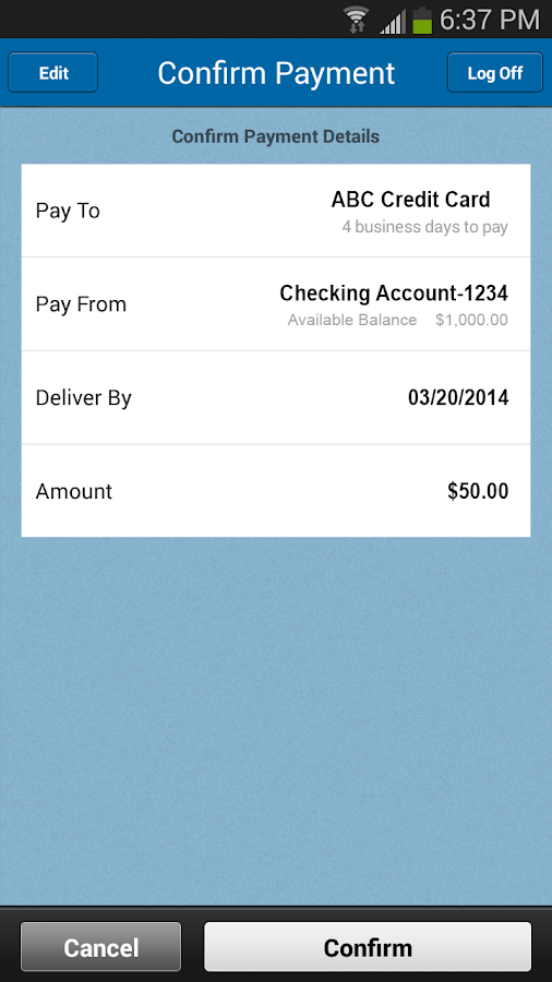 Zions Bank Business Banking - screenshot