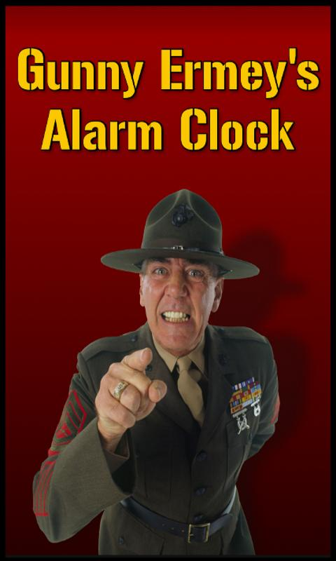 Gunny Ermey's Alarm Clock- screenshot