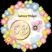Battery Widget-ガーリィ電池
