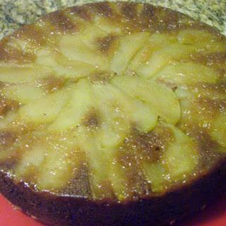 Apple Spiral Cardamom Coffee Cake.
