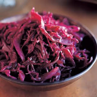 Balsamic-Braised Red Cabbage.