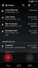 My Tracks Screenshot 3