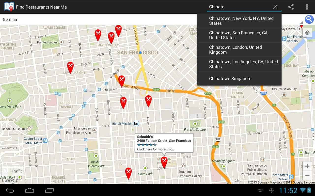 Find Restaurants Near Me - Android Apps on Google Play