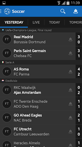 Score Alarm - LIVE Football