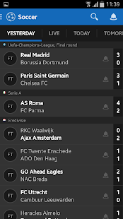 Score Alarm - LIVE Football- screenshot thumbnail