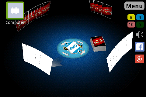 Crazy Eights 3D Screenshot