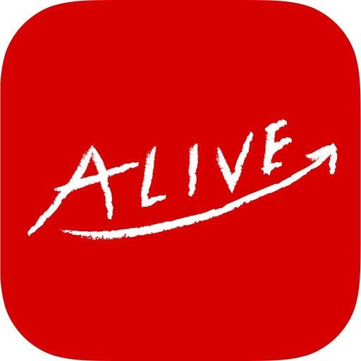 ALIVE ~簡単日記アプリ 生きている証を残すライフログ LOGO-APP點子